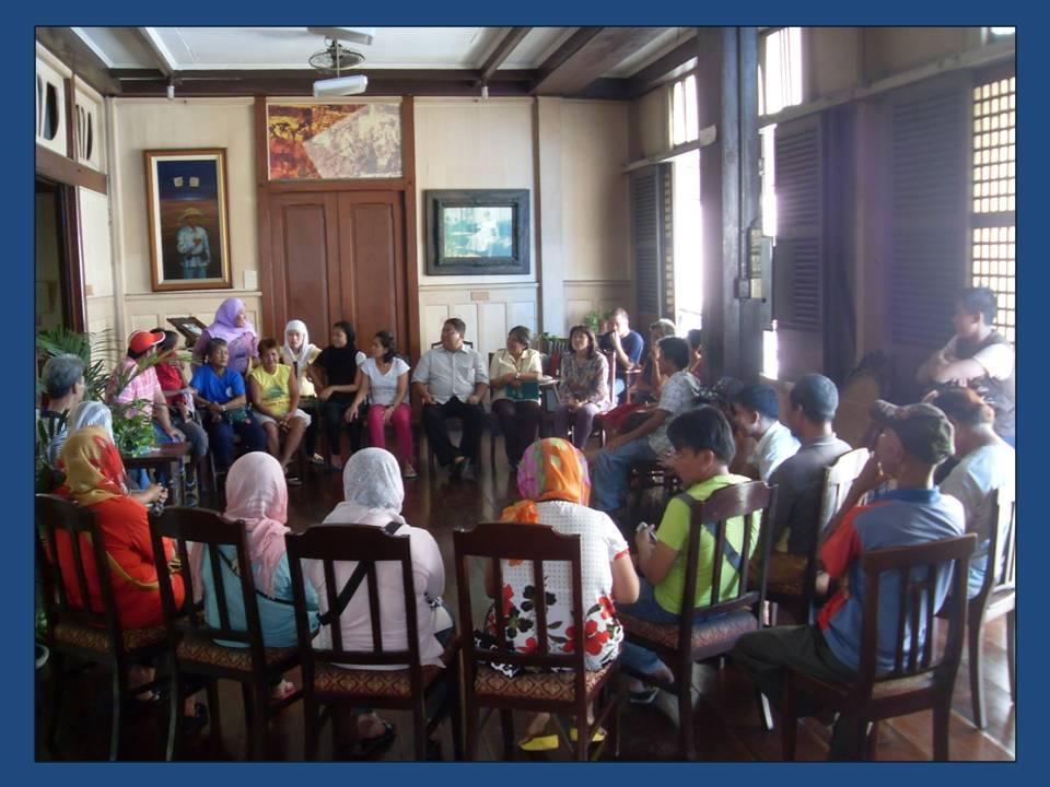 Muslim-Christian Dialogue Circle in Quiapo, Manila
