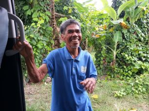 Midsayap July 25-28-MILF Chairman Bacron smiling