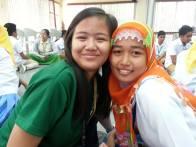 Miriam & Rajah Mudah students together