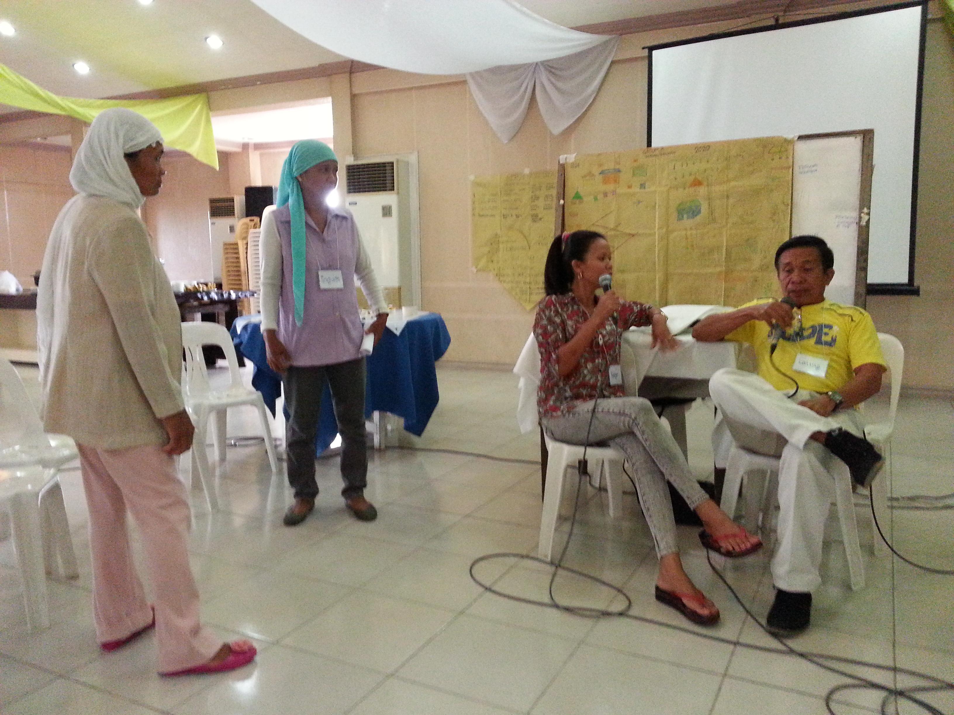 Barangay Dungu-an & Dualing dramatizing Moral Imagination discipline on risk-taking